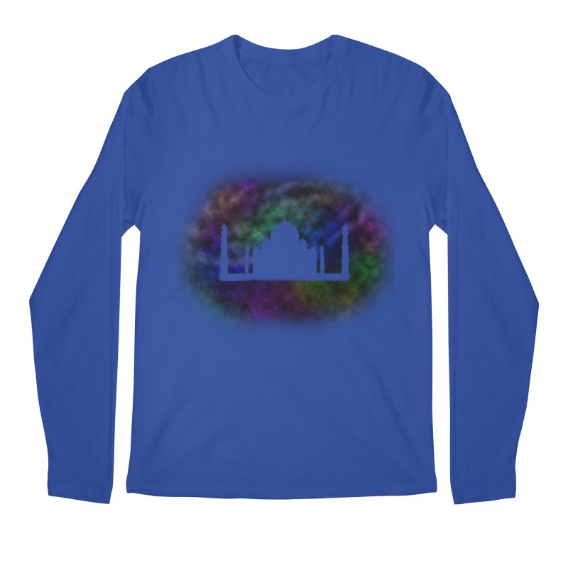 Taj Mahal Men's Regular Longsleeve T-Shirt by DERG's Artist Shop