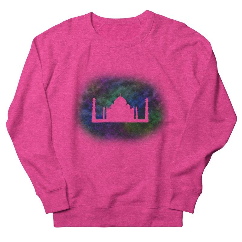 Taj Mahal Men's French Terry Sweatshirt by DERG's Artist Shop