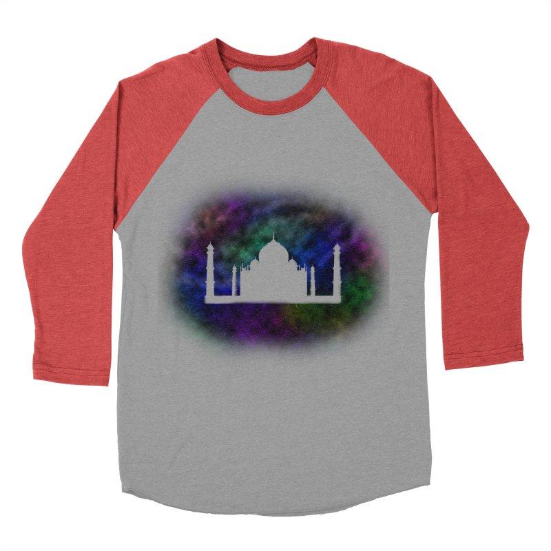Taj Mahal Women's Baseball Triblend T-Shirt by DERG's Artist Shop