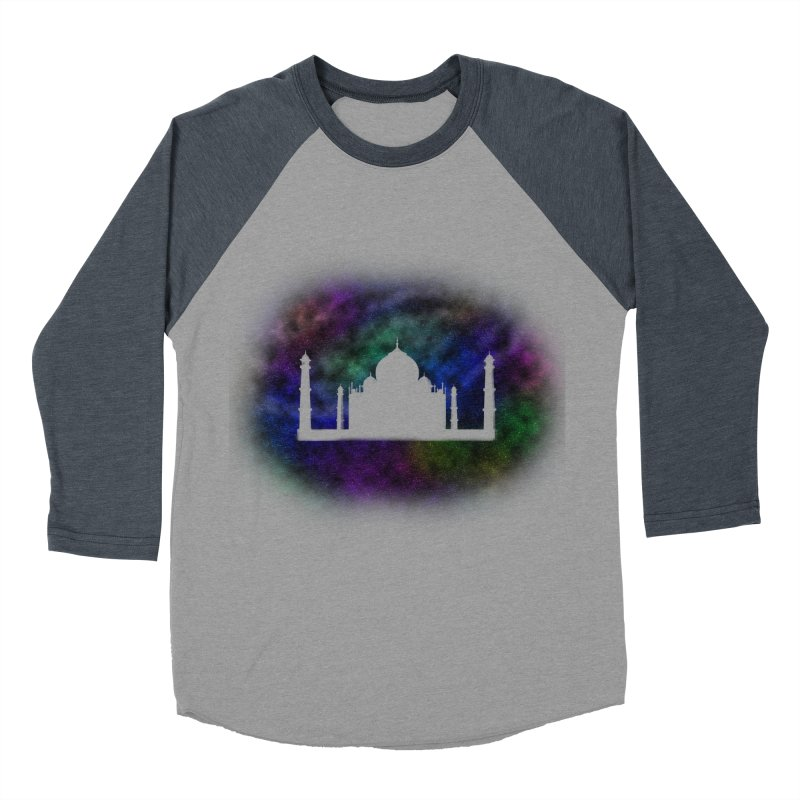 Taj Mahal Women's Baseball Triblend Longsleeve T-Shirt by DERG's Artist Shop