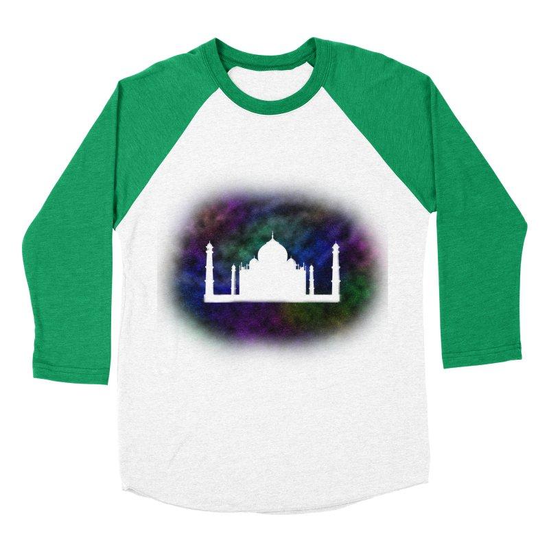 Taj Mahal Men's Baseball Triblend T-Shirt by DERG's Artist Shop