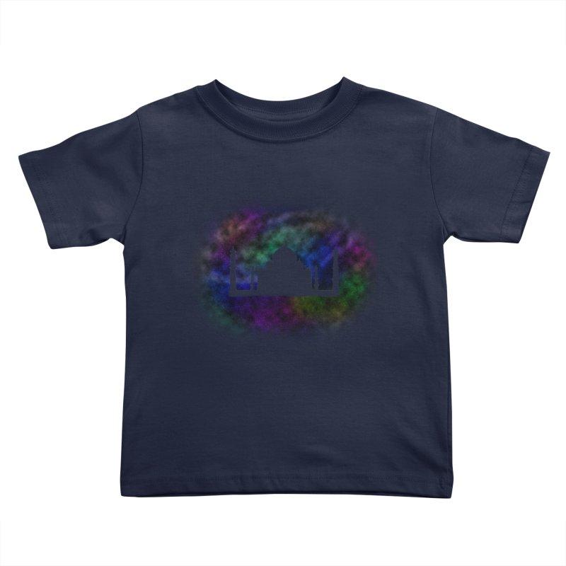 Taj Mahal Kids Toddler T-Shirt by DERG's Artist Shop