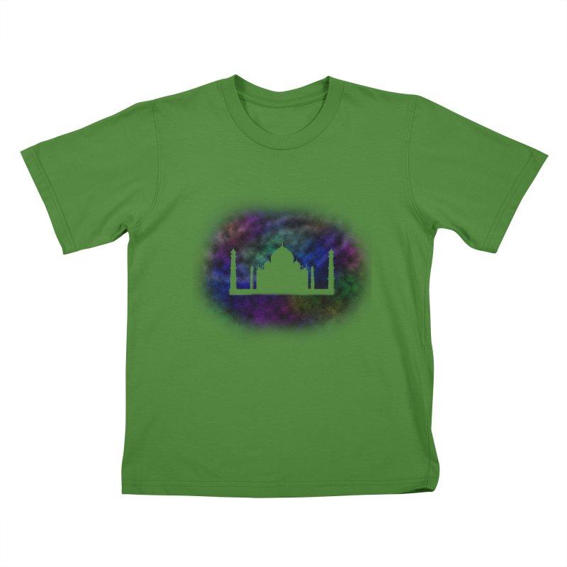 Taj Mahal Kids T-Shirt by DERG's Artist Shop