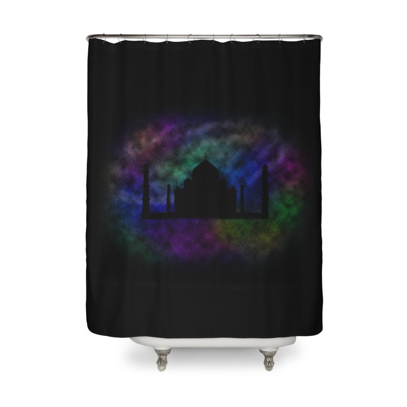 Taj Mahal Home Shower Curtain by DERG's Artist Shop