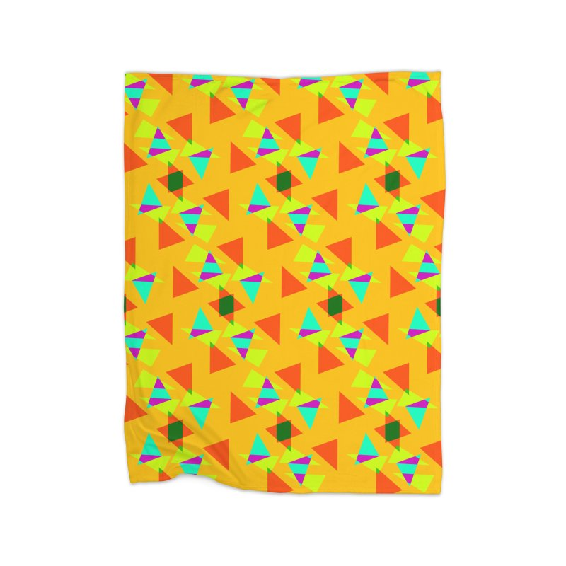 Confetti Home Blanket by DERG's Artist Shop