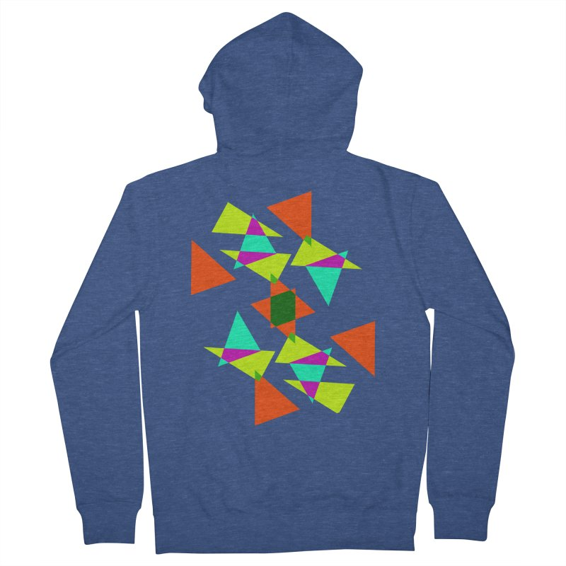 Confetti Women's Zip-Up Hoody by DERG's Artist Shop