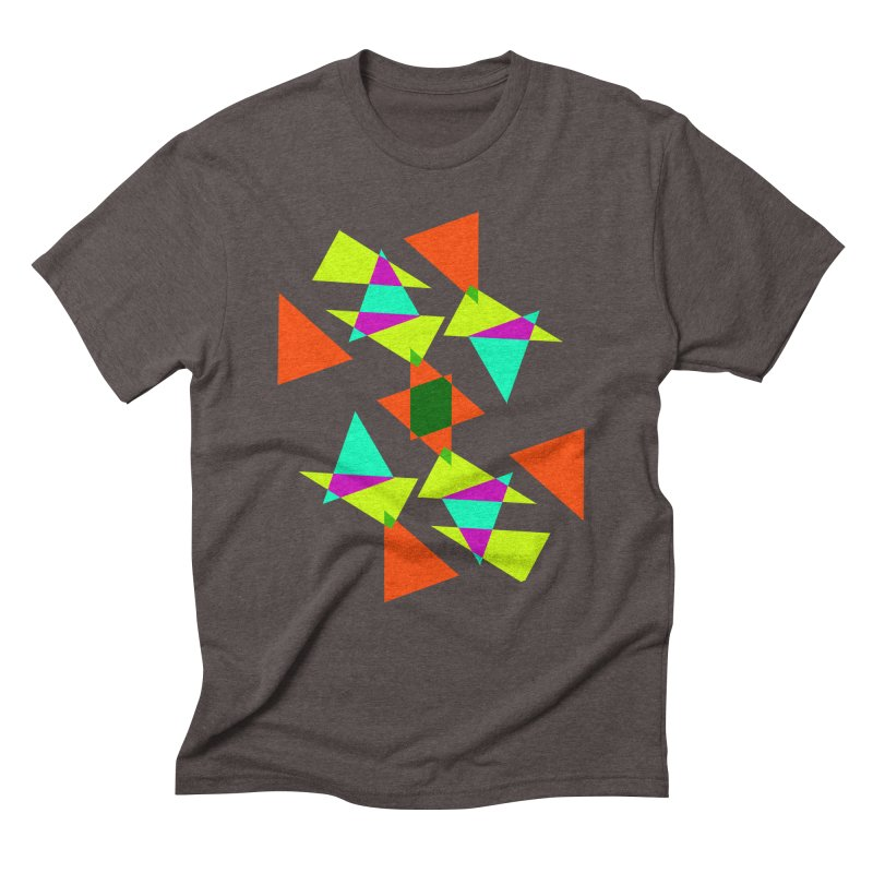 Confetti Men's Triblend T-shirt by DERG's Artist Shop