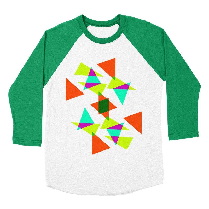 Confetti Women's Baseball Triblend T-Shirt by DERG's Artist Shop