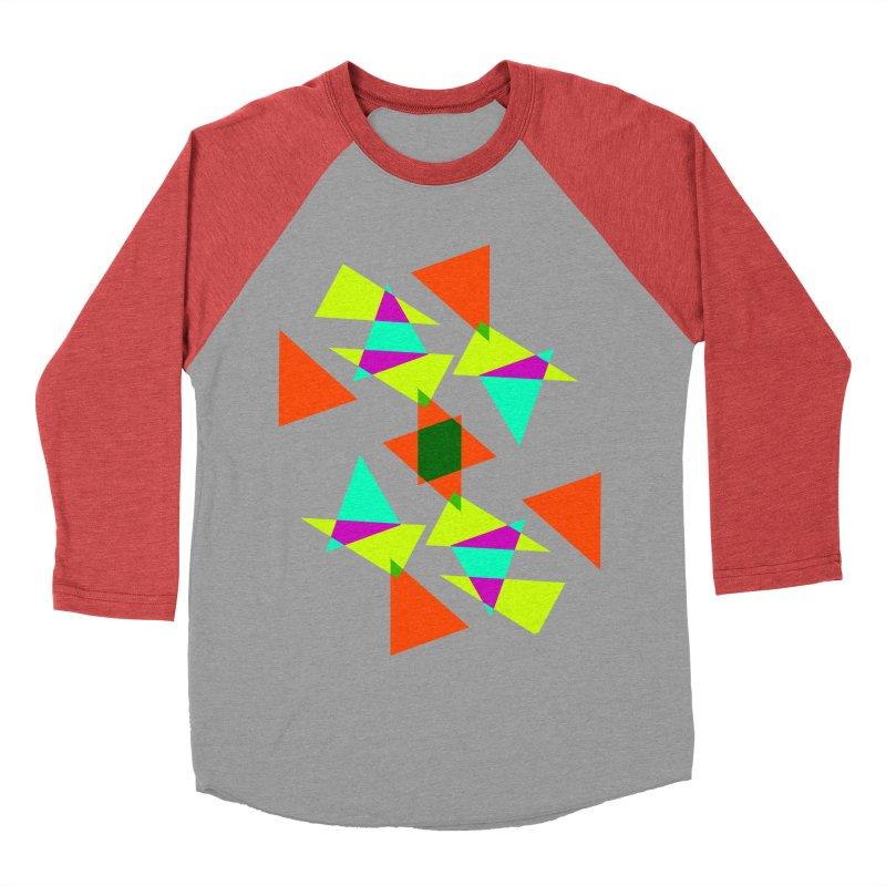 Confetti Men's Baseball Triblend T-Shirt by DERG's Artist Shop