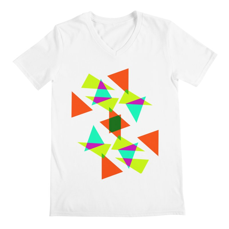 Confetti Men's V-Neck by DERG's Artist Shop