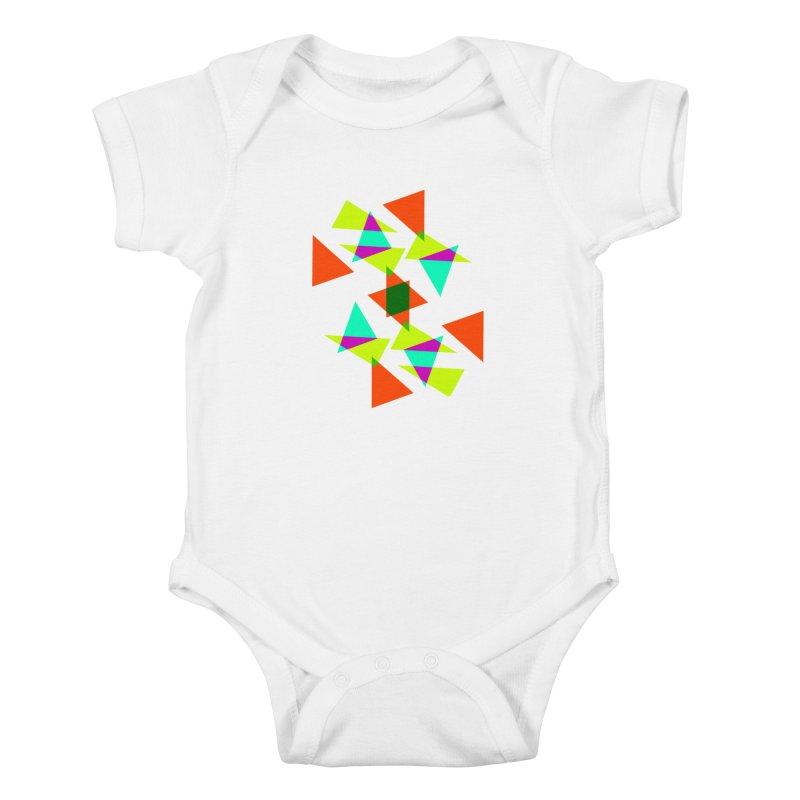 Confetti Kids Baby Bodysuit by DERG's Artist Shop