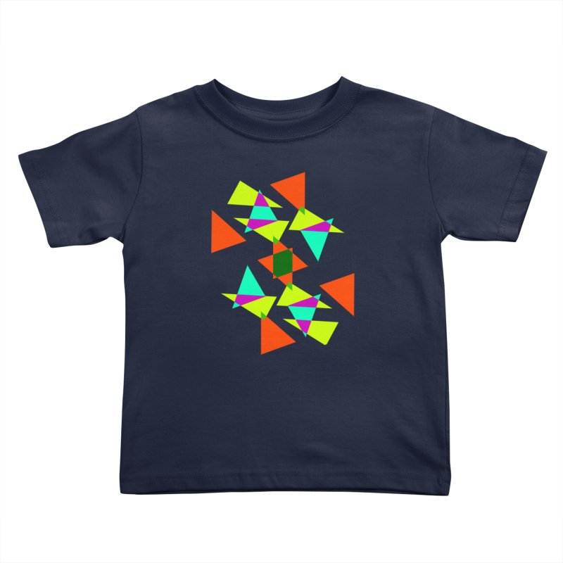 Confetti Kids Toddler T-Shirt by DERG's Artist Shop