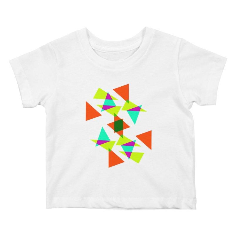 Confetti Kids Baby T-Shirt by DERG's Artist Shop