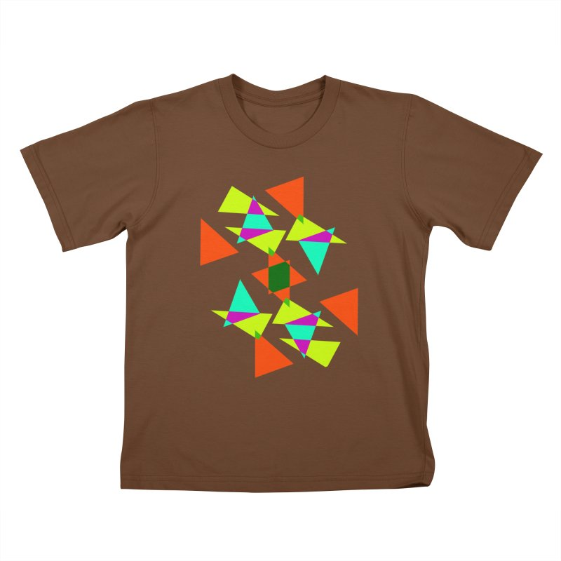 Confetti Kids T-Shirt by DERG's Artist Shop