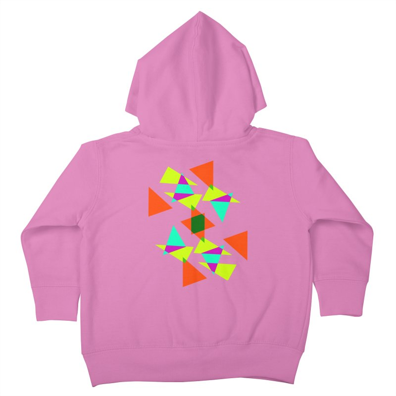 Confetti Kids Toddler Zip-Up Hoody by DERG's Artist Shop