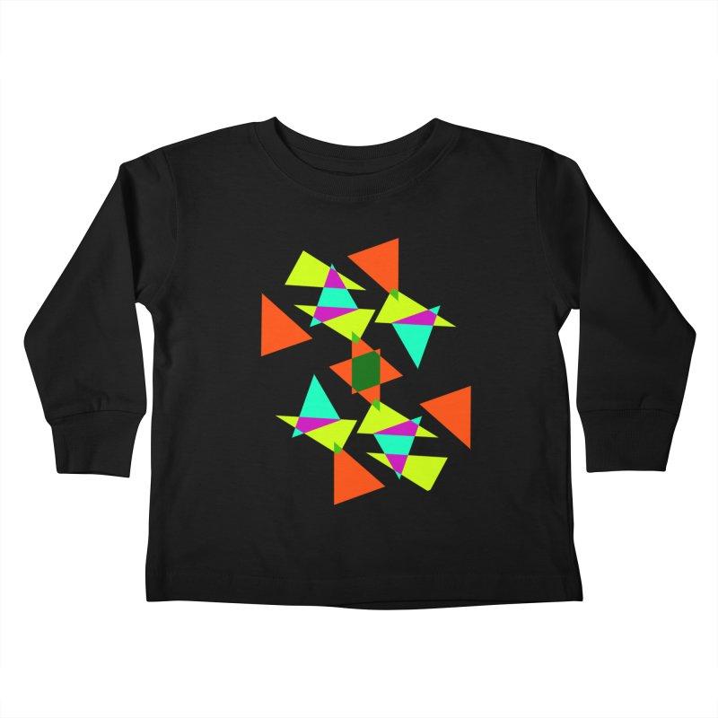 Confetti Kids Toddler Longsleeve T-Shirt by DERG's Artist Shop