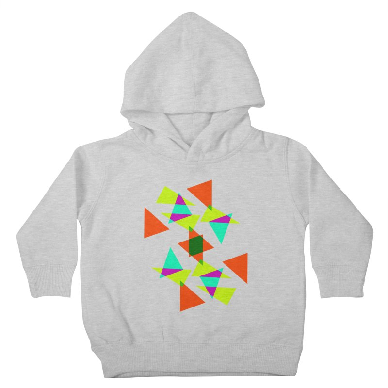 Confetti Kids Toddler Pullover Hoody by DERG's Artist Shop