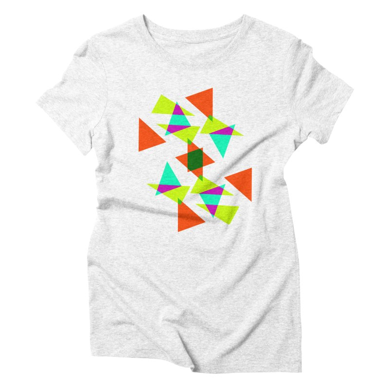 Confetti Women's Triblend T-shirt by DERG's Artist Shop