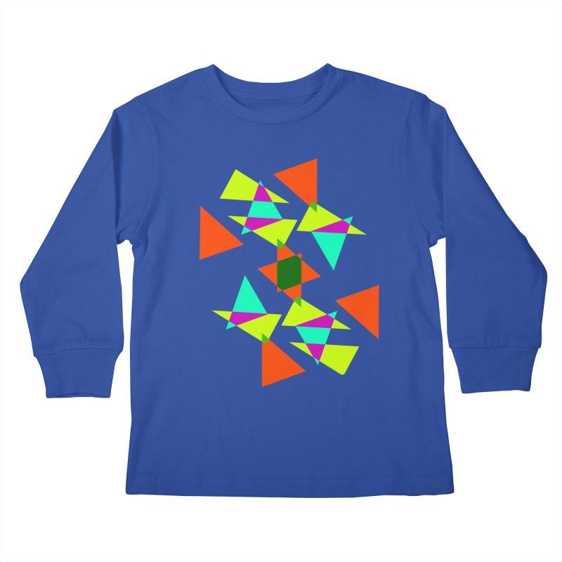 Confetti Kids Longsleeve T-Shirt by DERG's Artist Shop