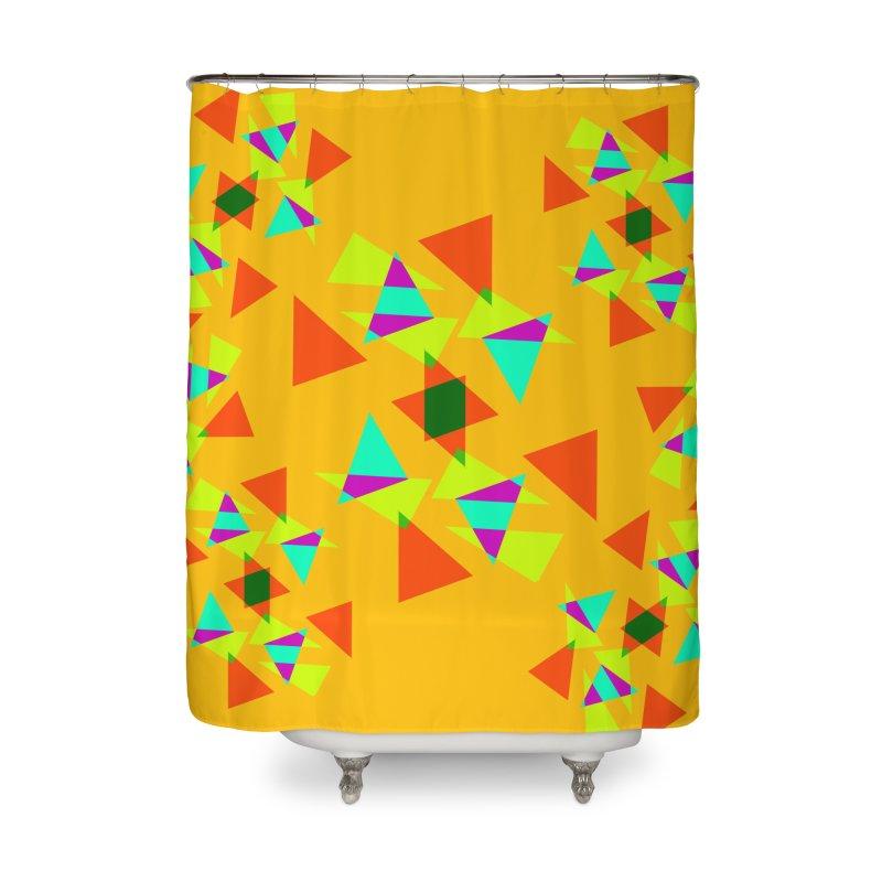 Confetti Home Shower Curtain by DERG's Artist Shop
