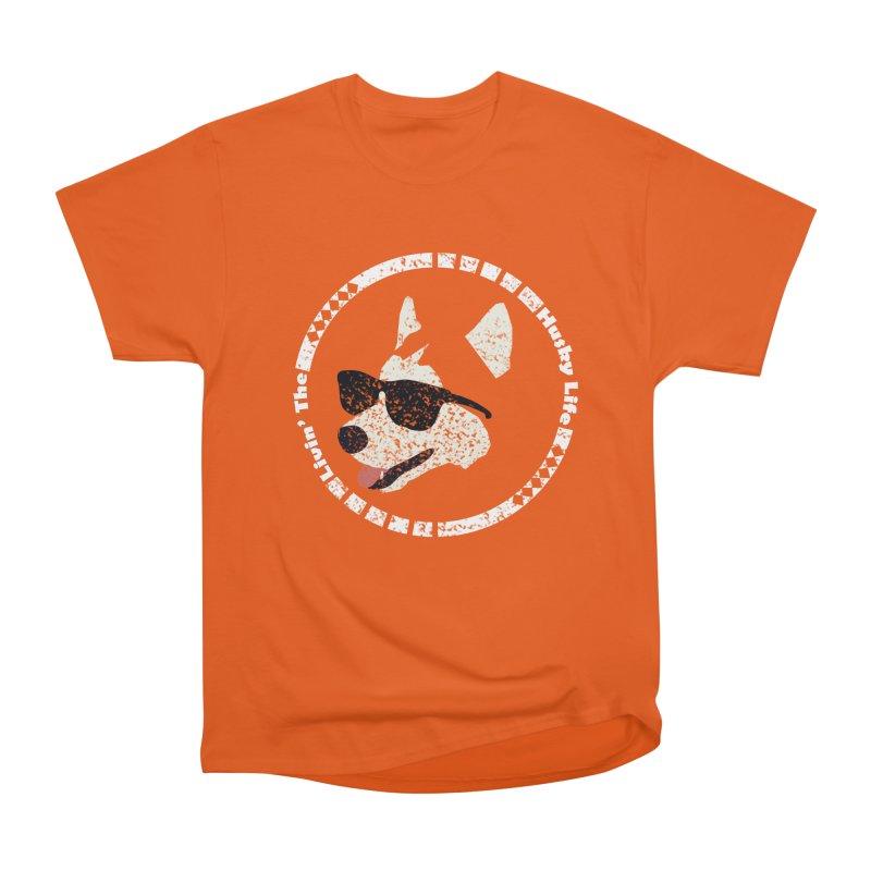 Livin' the husky life Men's Heavyweight T-Shirt by DERG's Artist Shop