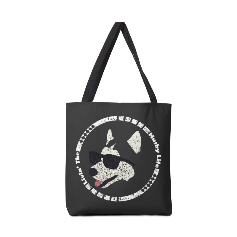 Livin' the husky life Accessories Bag by DERG's Artist Shop