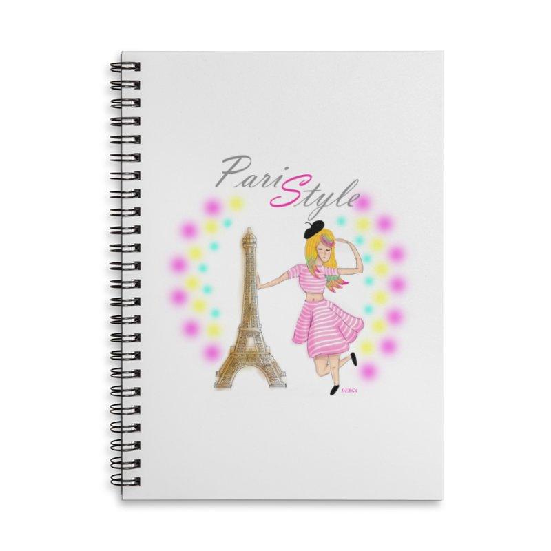 Paristyle Accessories Notebook by DERG's Artist Shop