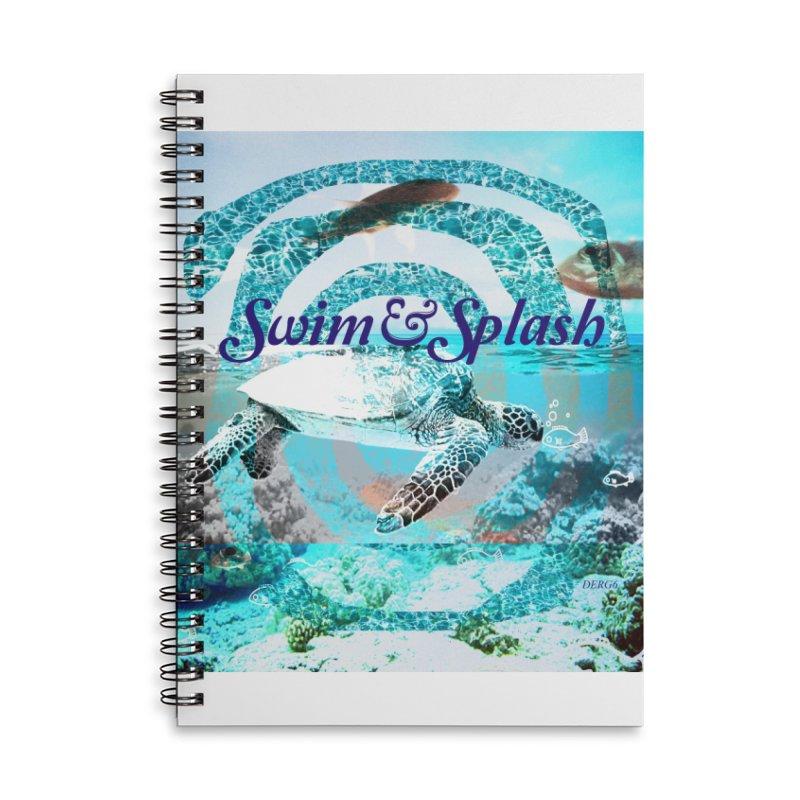 Swim&Splash Accessories Notebook by DERG's Artist Shop