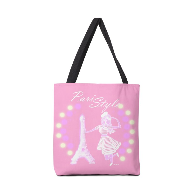 PariStyle White in Tote Bag by DERG's Artist Shop