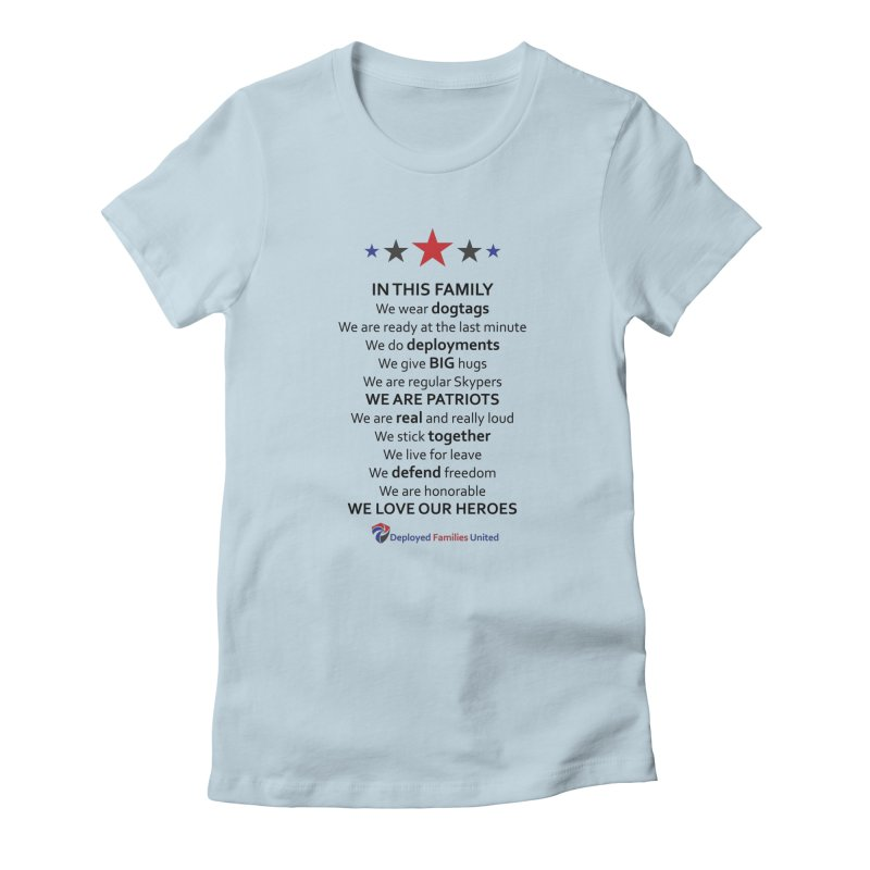 In This Family Women's T-Shirt by DFU Store