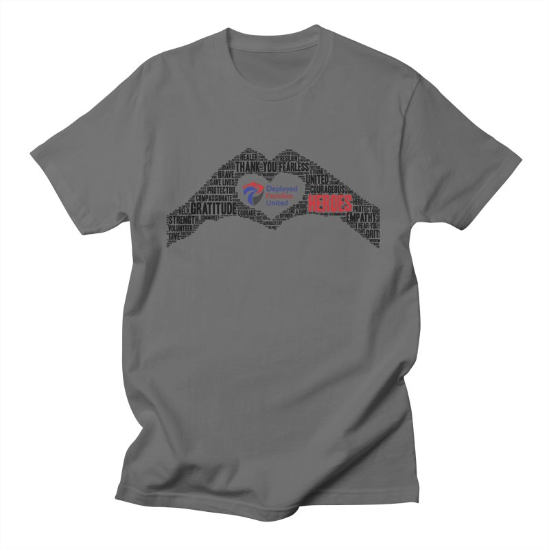 Thank You Heroes Men's T-Shirt by DFU Store