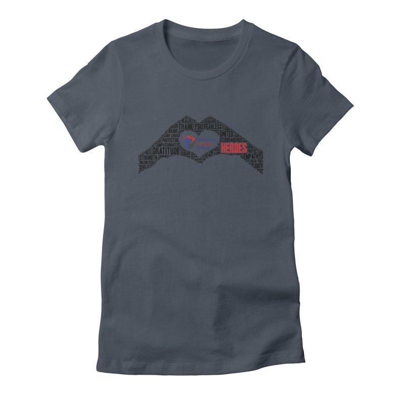 Thank You Heroes Women's T-Shirt by DFU Store