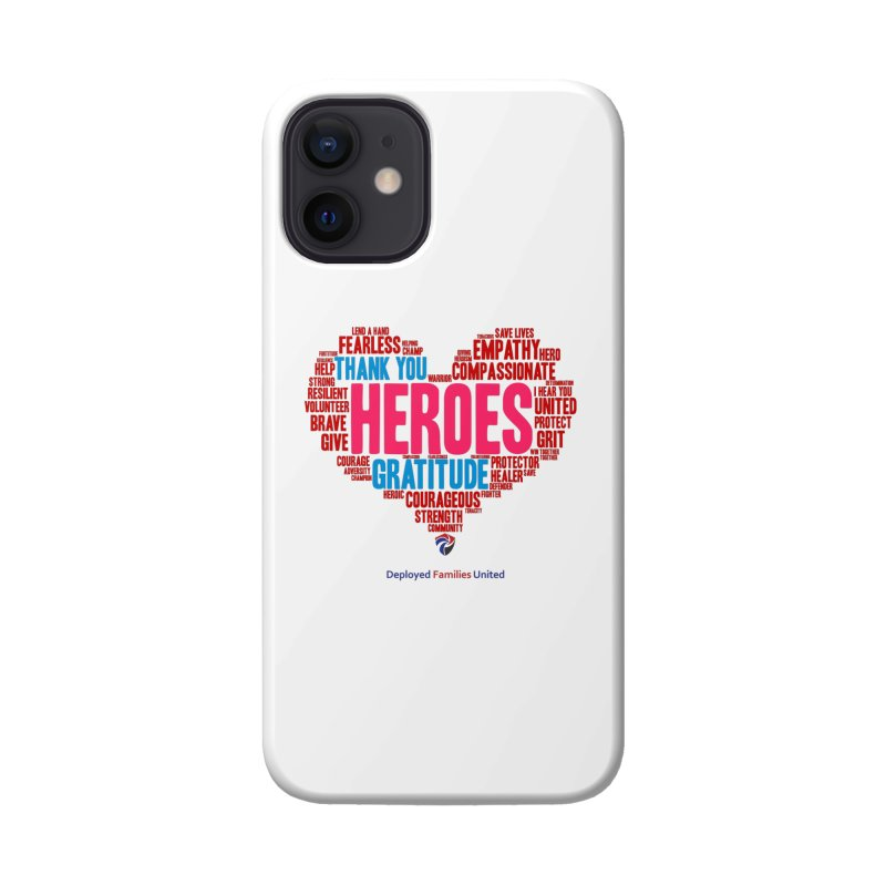 We Heart Our Heroes Accessories Phone Case by DFU Store