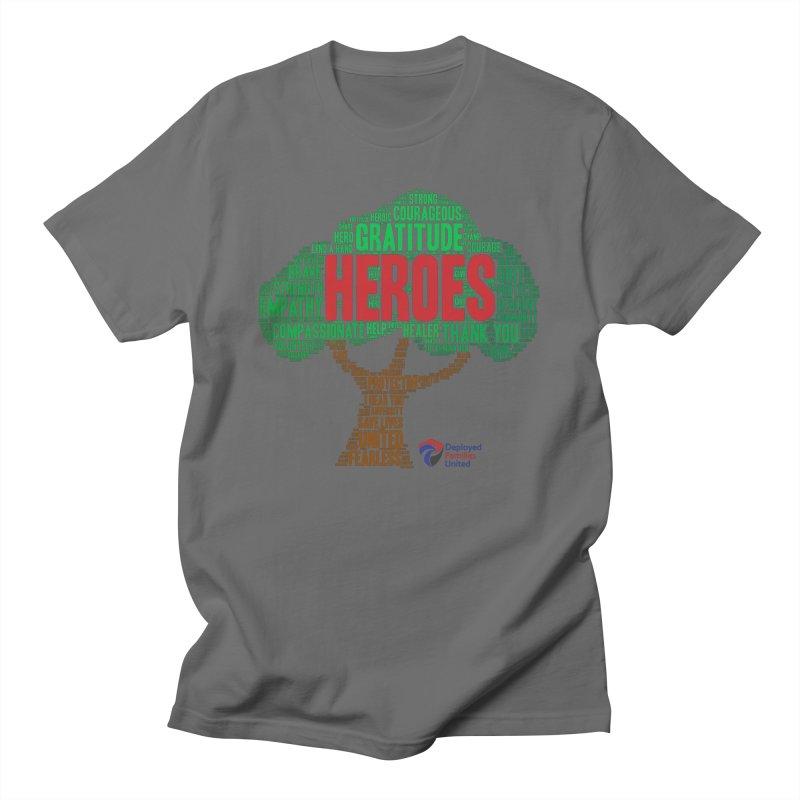 Heroes Tree Men's T-Shirt by DFU Store