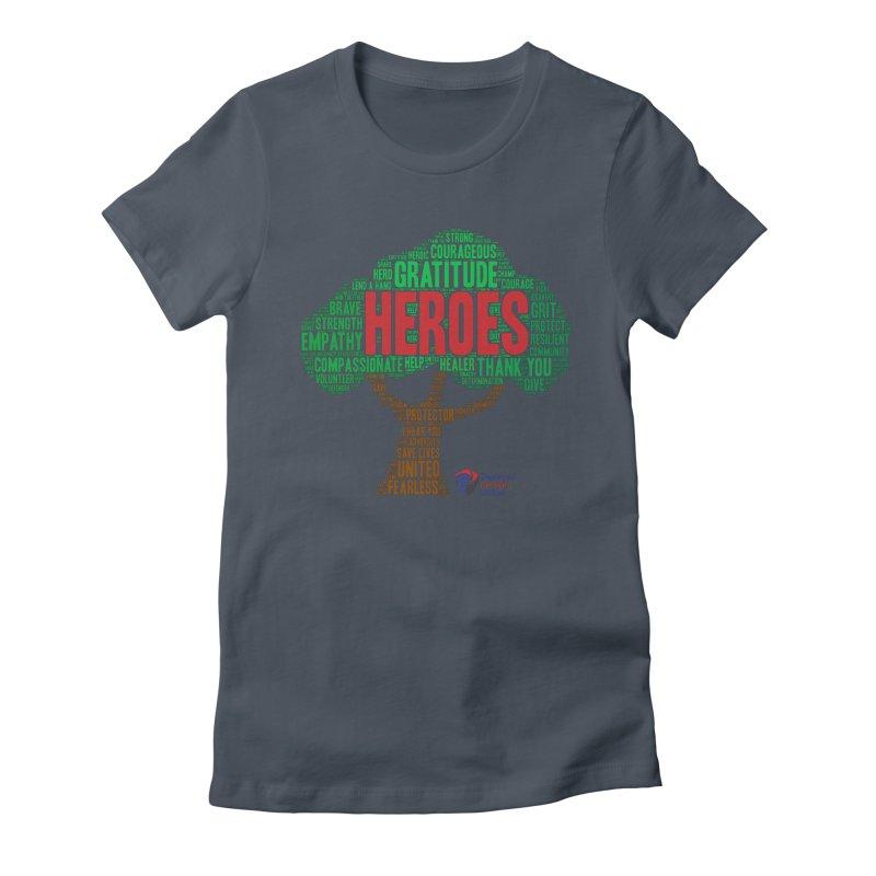Heroes Tree Women's T-Shirt by DFU Store