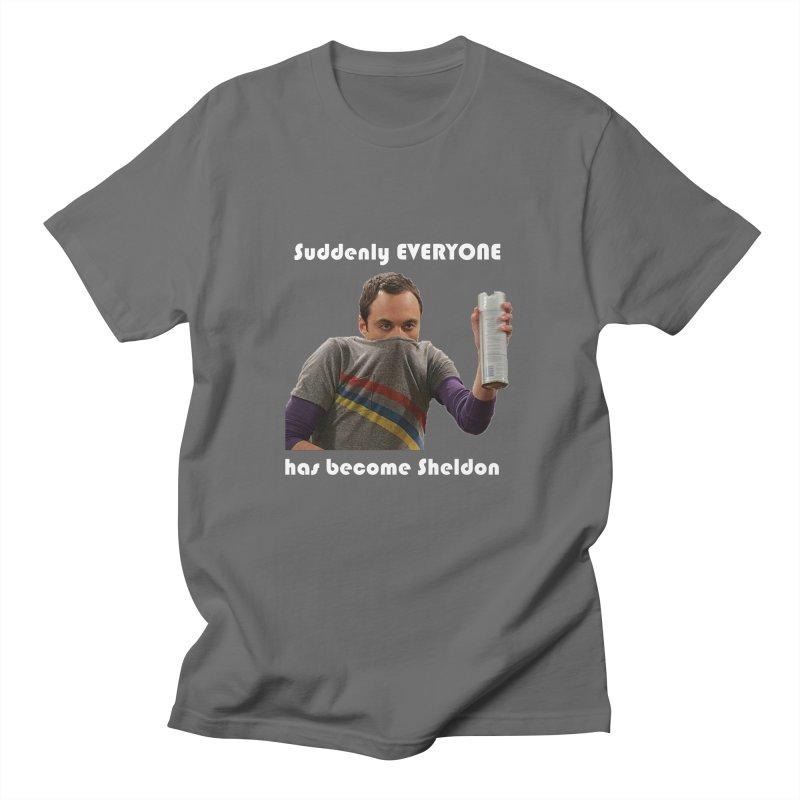 Suddenly Sheldon Men's T-Shirt by DFU Store