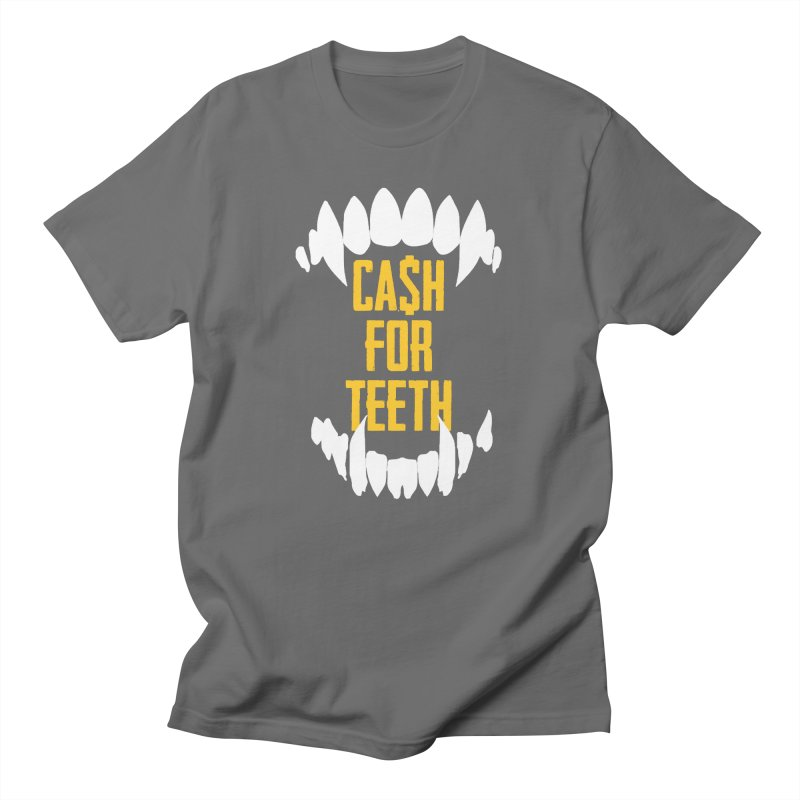 Cash 4 Teeth Logo T-SHirt Men's T-Shirt by Does It Roll