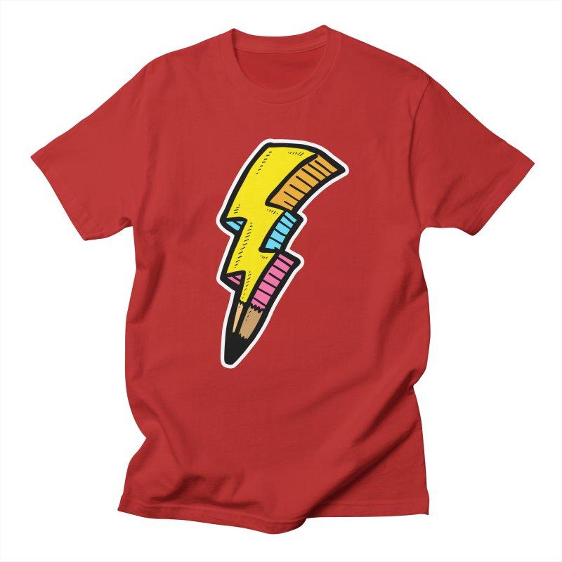 THUNDERSTOKE Men's T-shirt by DOMINATE'S Artist Shop