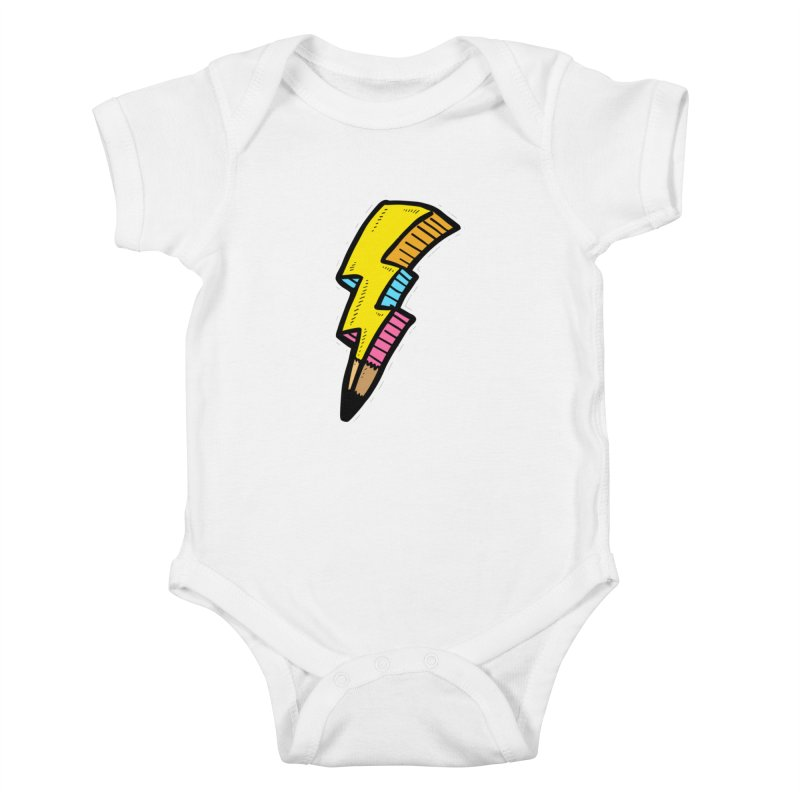 THUNDERSTOKE Kids Baby Bodysuit by DOMINATE'S Artist Shop