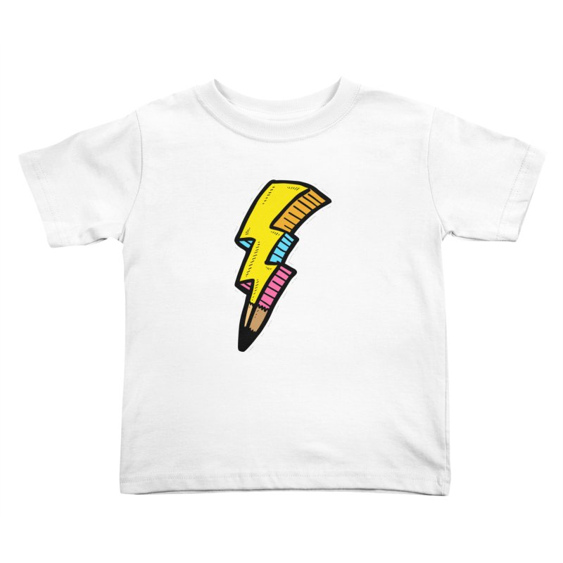THUNDERSTOKE Kids Toddler T-Shirt by DOMINATE'S Artist Shop