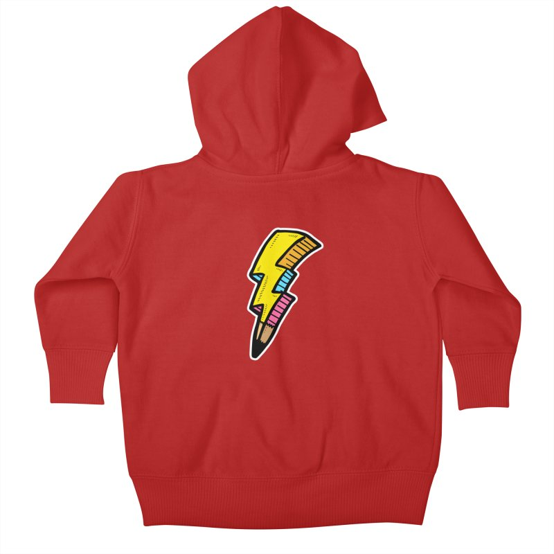 THUNDERSTOKE Kids Baby Zip-Up Hoody by DOMINATE'S Artist Shop