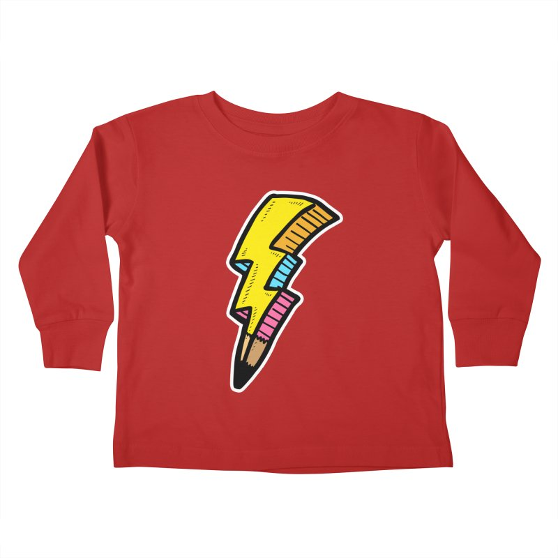 THUNDERSTOKE Kids Toddler Longsleeve T-Shirt by DOMINATE'S Artist Shop