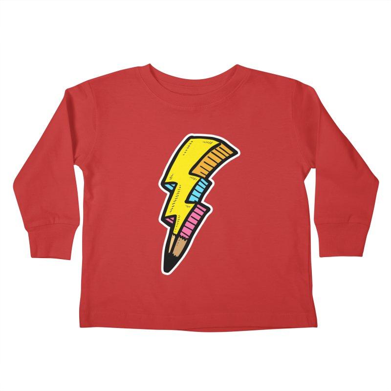 THUNDERSTOKE Kids Toddler Longsleeve T-Shirt by DOMINATE'S Artist Shop