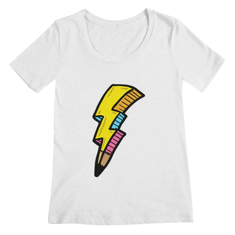 THUNDERSTOKE Women's Scoopneck by DOMINATE'S Artist Shop