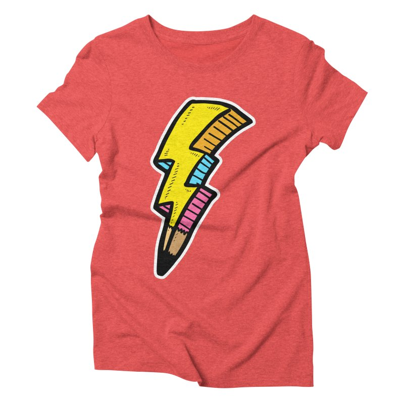 THUNDERSTOKE Women's Triblend T-shirt by DOMINATE'S Artist Shop