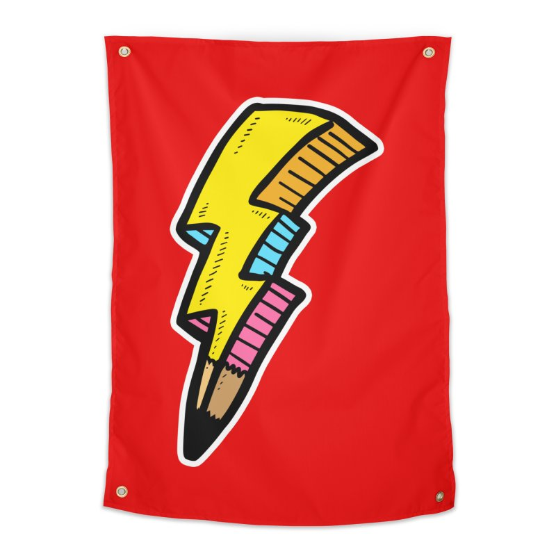 THUNDERSTOKE Home Tapestry by DOMINATE'S Artist Shop