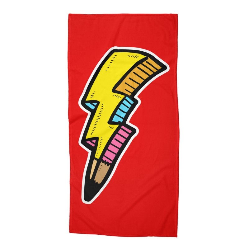 THUNDERSTOKE Accessories Beach Towel by DOMINATE'S Artist Shop