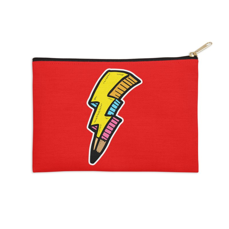 THUNDERSTOKE Accessories Zip Pouch by DOMINATE'S Artist Shop