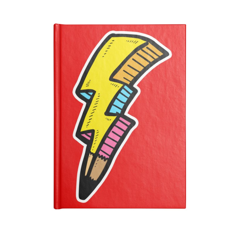 THUNDERSTOKE Accessories Notebook by DOMINATE'S Artist Shop