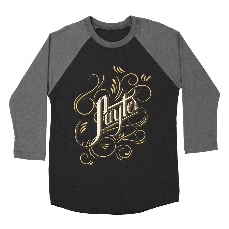 Payter Women's Baseball Triblend T-Shirt by DOMINATE'S Artist Shop